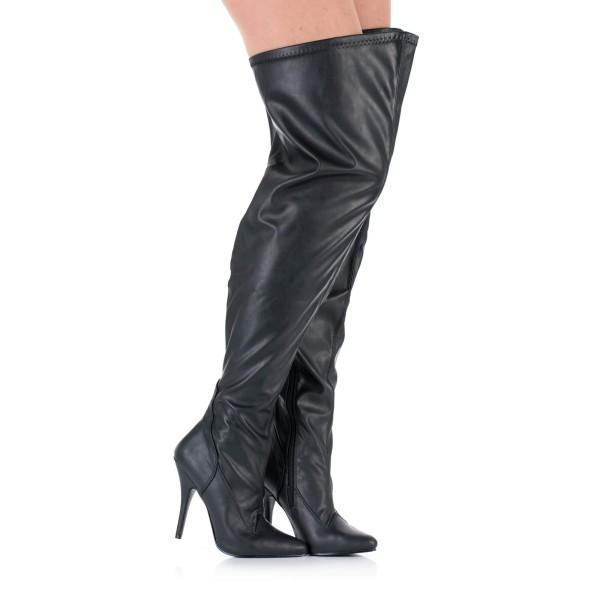 Overknee Stiefel mit extra weitem Schaft