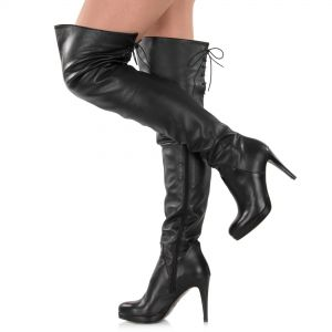 Overknee Stiefel Leder - SO330002
