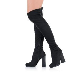 Overknee Stiefel Blockabsatz - SO330011