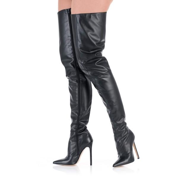 Crotch Overknee Stiefel