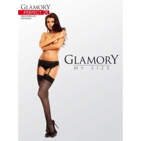 Strapsstrümpfe Schwarz Glamory 50131 Perfect 20 - ST040005