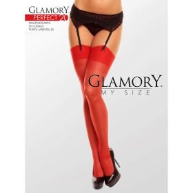Strapsstrümpfe Rot Glamory 50131 Perfect 20 - ST040006