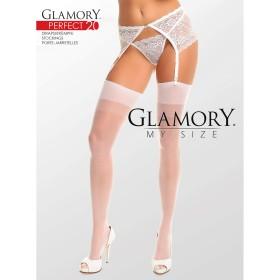 Strapsstrümpfe Weiß Glamory 50131 Perfect 20 - ST040013