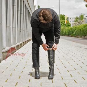 Vorschau: Stiefel mit hohem Absatz für Männer