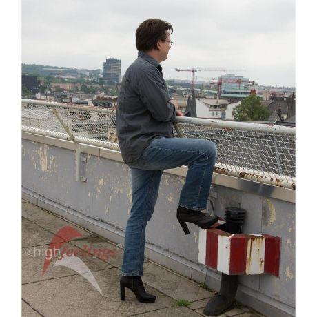 Stiefel mit hohem Absatz für Männer