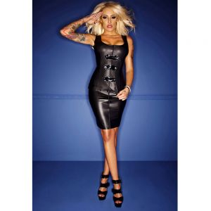 Wetlook-Top mit PVC-Applikationen - TP300001